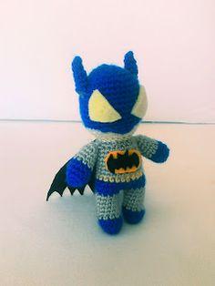 asoshun oyuncaklarına hoşgeldiniz: Amigurumi Batman yapılışı,free pattern Batman