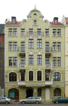 Nadodrze › pl. Staszica Stanisława, ks. › Staszica 26 7 października 2009 , Kamienica nr 26
