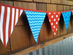 Hey, I found this really awesome Etsy listing at http://www.etsy.com/listing/92590010/dr-seuss-bunting-red-and-turquoise