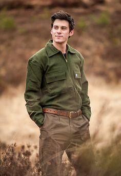 Swanndri Ranger Wool Bushshirt - Olive, classic New Zealand clothing