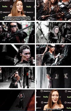I got this #alycia #lexa #ftwd #clexa #ferthewalkingdead