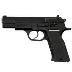 """A creditable home defense gun for less than $200 is the EAA SAR B6P Sarsilmaz Semi Automatic Pistol 9mm Luger 4.5"""" Barrel 16 Rounds"""
