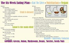 Amy's Nutritarian Kitchen: eat to live