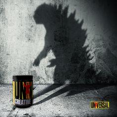 Você, gigante! #godzilla #gigante #creatina #universalnutrition