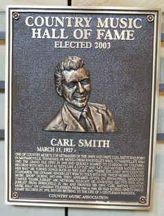 Carl Smith - Inducted in 2003