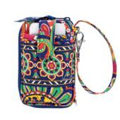 This is the Vera Bradley wristlets I want! Either this color or the other one I pin! I love this print and the other one! But this is perfect for biking to class. Holds phone and cards so I don't have to lug around my louis bag and the Vera will fit in my backpack!! Ah mazing! Now I have to decide if I'm getting a new backpack or keeping my old one!!