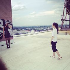 Behind the scenes on Tuesday's shoot! We are working on our fall and winter collection!   #TBT #fashion #photography
