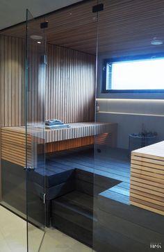 Infrarot Sauna, Sauna House, Sauna Room, Home Spa Room, Spa Rooms, Modern Saunas, Small Toilet Room, Sauna Design, Bathroom Inspiration