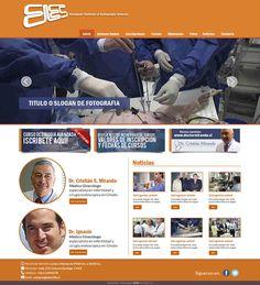 Maqueta de Sitio Web para EIES Chile