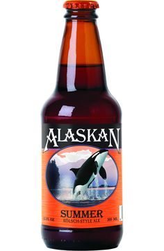Alaskan summer ale   I first had this beer in Alaska a few summers ago and loved it.  Excited that it is now available locally.  Perfect with a slice of orange.