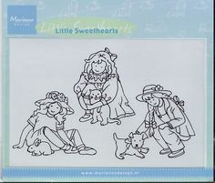 Tiny's Clear stamps Little Sweethearts TC0816 - Clear Stamps Tiny - Stempel Techniek Hobbyshop Nellie Snellen