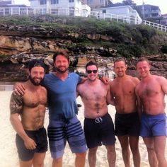 Bobby K @_BobbyK_  look at all these sexys hanging out with @ GerardButler on the beach!! pic.twitter.com/mKwtW6pp0Q