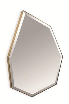 O melhor do Salone Del Mobile 2016 Florence Knoll, Art Deco Door, Home Decor Mirrors, Wall Decor, Magic Mirror, Nordic Interior, Decoration, Decorative Accessories, Accent Decor