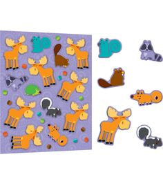 Liven up notes, calendars, homework sheets, or anywhere a touch of fun is needed! These charming and delightful Moose & Friends shape stickers are also perfect for rewards and prize boxes and are an essential addition to any teacher's desk or treasure chest. Each pack includes 78 stickers that are acid free and lignin free.