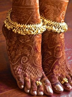 Payal and Toe Rings