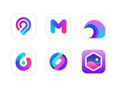 There are some concepts of app icons made for fun.There are some concepts of app icons made for fun.Icons There are some concepts of app icons made for fun.There are some concepts of app icons made for fun. Web Design, Flat Design Icons, App Icon Design, Ui Design Inspiration, Graphic Design, Application Icon, Phone Themes, App Logo, Abstract Logo