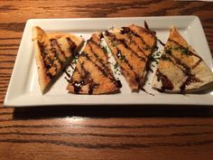 Parmesan Crusted Chicken Quesadillas #TGIF