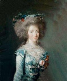Félicité Sophie de Lannion (1745-1830), Comtesse de La Rochefoucauld puis Duchesse de Liancourt, Duchesse d'Estissac, 7e. Duchesse de La Rochefoucauld, 2e. Duchesse d'Anville.