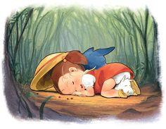 My Neighbor Totoro | Hayao Miyazaki | Studio Ghibli / Kusakabe Mei