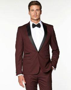 red black tuxedo fr weddng suit men bridegroom suits burgundy tuxedo jacket groom wear free shipping