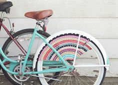 Bicicleta com croche