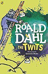 Buy The Twits by Roald Dahl, saving Paperback book illustrated by Quentin Blake. Quentin Blake, Roald Dahl The Twits, Roald Dahl Books, Mrs Twit, Georges Marvellous Medicine, Mean Jokes, Funny Books For Kids, Read Aloud Books, Bfg
