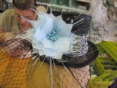 My sister and I did a mini top hat class at Jill Courtemanche Millinery