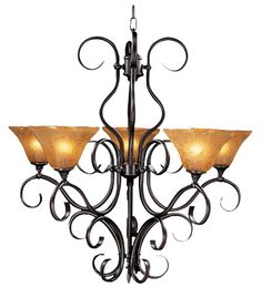 Framburg Lighting Hauschen 5-Light Chandelier FR-1755 $588.00