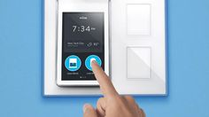 The Wink Relay, an in-wall switch to control your network of smart home devices. It's easy to drive the various connected locks and thermostats from your own mobile device.: