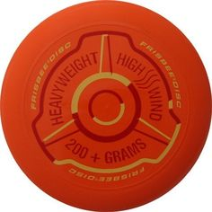 Wham-O Heavy Weight Ultimate Frisbee Disc by Frisbee. $10.95. This is the disc for big arms, and people who love to play catch at the beach. This monster is super stabile, even in heavy wind, and also makes a great training disc to build arm-strength away from the course.This great disc comes with a guide to Frisbee® skills that covers backhand, side-arm, thumber, and wrist-flip throws, as well as a dozen different catches. There aren't too many discs discs this heavy ...