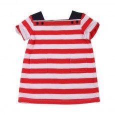 Petit Bateau Maligne striped dress