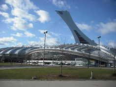 "Montreal- Olympic Stadium! The big ""O""."