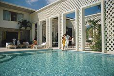 Photo Arturo Pani's villa - Slim Aarons