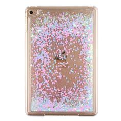 For Apple iPad Mini 4 Glitter Stars Bling Liquid Hard Plastic Clear Case Cover For ipad mini4 Quicksand transparent Tablet Cases