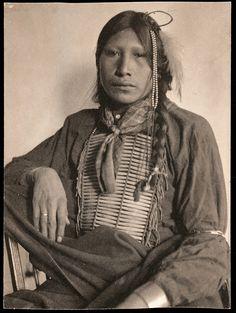 Фото Gertrude Kasebier, 1898 год. White Wolf.
