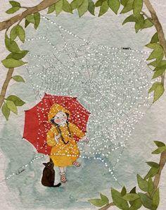 Drawing For Kids, Art For Kids, Parcs, Whimsical Art, Cute Illustration, Belle Photo, Cute Drawings, Cute Art, Watercolor Art