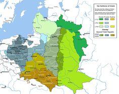 map of poland 1938 World History, Family History, Alternate History, Prehistory, Historical Maps, Cartography, Mosaic, Europe, Lithuania