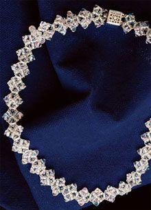 Crystal Diamond Necklace