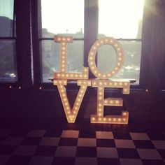 What wedding is complete without LOVE?