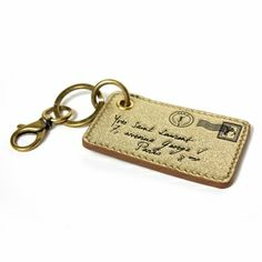 YSL Gold Y-Mail Keychain - 34% off at www.queenbeeofbeverlyhills.com - free shipping within the US - guaranteed authentic. #ysl