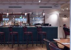Army and Navy Club - The Ribbon Bar - Stiff + Trevillion