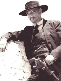 .Bad guys have always been my bag... I look mean without even trying. Lee Van Cleef