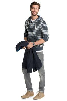 edc : Sudadera con bolsillos canguro en la Online-Shop