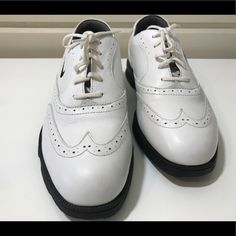 official photos 9804a 54358 Nike Shoes   Classic Wingtip Nike Womens Golf Shoes   Color  Black White