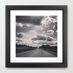 The Open Road Framed Art Print by ADH Graphic Design - $40.00