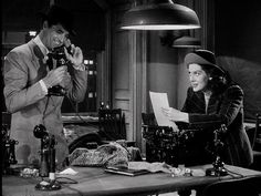 His Girl Friday (0 Nominations) 1940