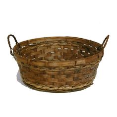 Bamboo Round Tray - Stained. Look around site for different sizes.