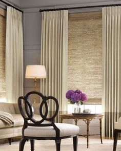 Elegant Home Decorating Ideas: Modern Window Treatments For Living Room .