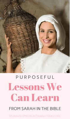 The story of Sarah in the Bible plus key verses, lessons we can learn from her life and printables for deeper study and insight into this faithful woman. Biblical Marriage, Biblical Womanhood, Mothers In The Bible, Abraham And Sarah, Christian Women, Christian Life, Free Bible Study, Proverbs 31 Woman, Bible Scriptures