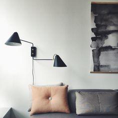 Lovely wall lamp | Club by House doctor | Kvart interiör